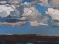 101-Cloud Study 3, Norfolk-Lockwood-50x61cm-oil-linen-(landscape)