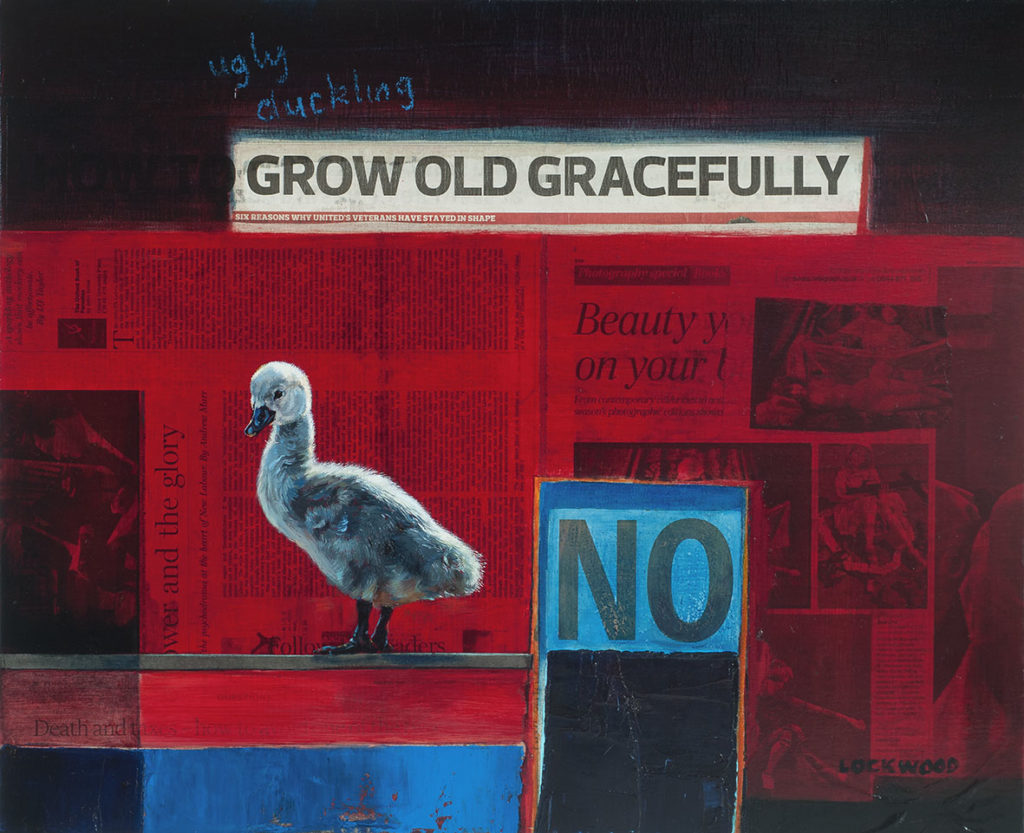 189 Grow old gracefully Lockwood 50x61cm oil linen (signet)